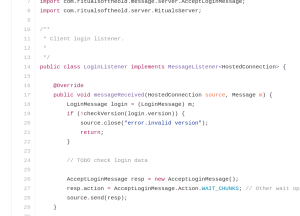 Some random code