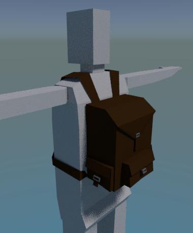 Detail: Backpack